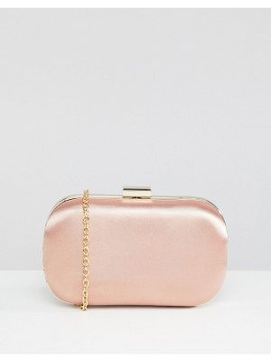 True Decadence blush rounded box clutch bag