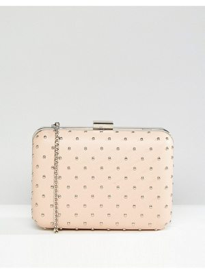 True Decadence Box Clutch Bag With Studding