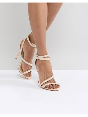 Truffle Collection asymetric skinny sandal