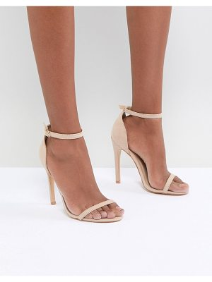 Truffle Collection barely there sandal