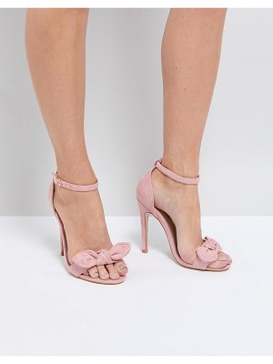 TRUFFLE COLLECTION Bow Heeled Sandals