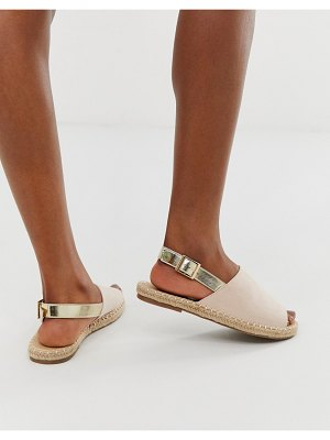 Truffle Collection espadrille slingback sandals