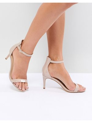 Truffle Collection mid barely there heeled sandals