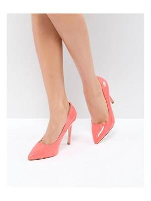 Truffle Collection neon point high heels