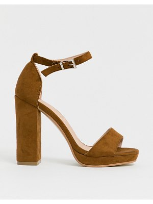 Truffle Collection platform heeled sandals