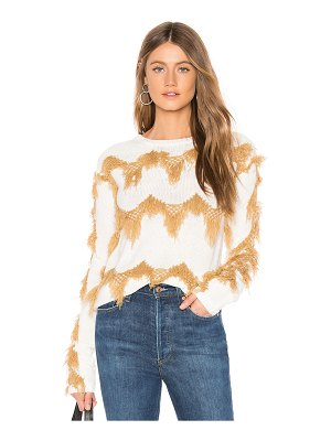 Tularosa sweater with chevron detailing