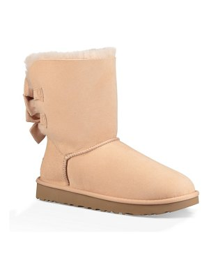 Ugg bailey bow genuine shearling bootie
