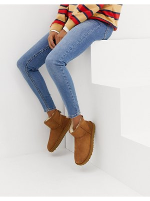 Ugg classic mini ii ankle boots in chestnut-brown