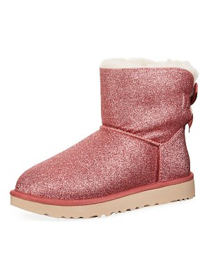 Ugg Mini Bailey Bow Sparkle Boots