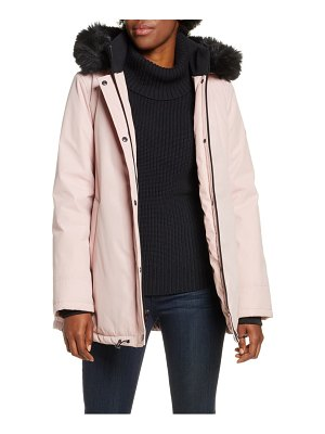 Ugg ugg bernice faux fur trim waterproof parka