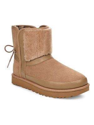 Ugg ugg classic bow genuine shearling bootie