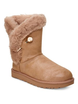 Ugg ugg classic fluff pin genuine shearling bootie
