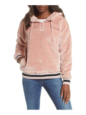 Ugg ugg kailani fleece hooded sweatshirt