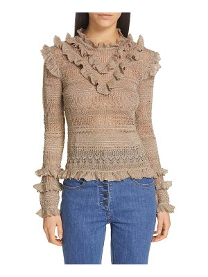 Ulla Johnson austen ruffle sweater