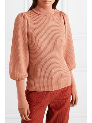 Ulla Johnson brynn alpaca and silk-blend turtleneck sweater