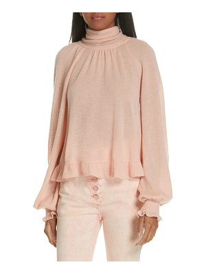 Ulla Johnson clover tie back cashmere blend sweater