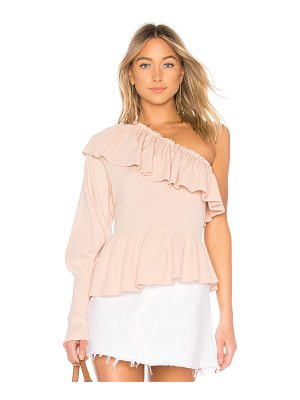 ULLA JOHNSON Eden One Shoulder Top