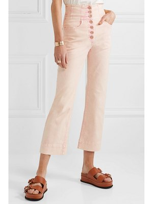 Ulla Johnson ellis high-rise straight-leg jeans