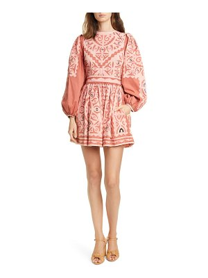 Ulla Johnson omaira long sleeve minidress