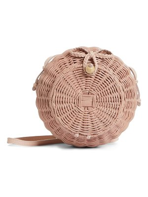 Ulla Johnson pomme woven rattan shoulder bag