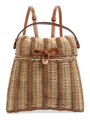 Ulla Johnson taja wicker backpack