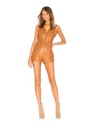 Understated Leather Ultimate Moto Romper