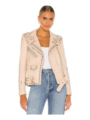 Understated Leather Ultimate western studded jacket