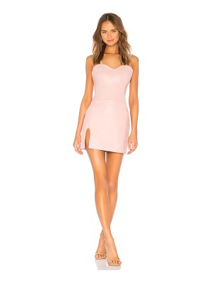 Understated Leather Ultimate x REVOLVE Split Mini Dress