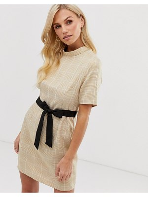 UNIQUE21 high neck shift dress