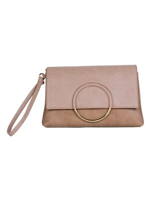 Urban Originals custom vegan leather wristlet clutch
