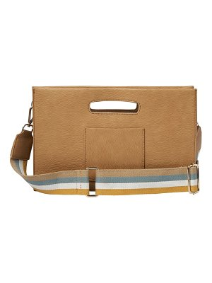 Urban Originals faithful vegan leather crossbody bag
