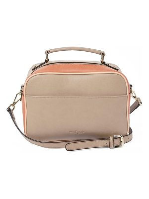 Urban Originals love bird faux leather satchel