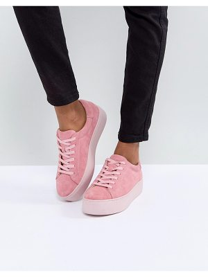 VAGABOND Jessie Pink Suede Colourdrench Sneakers