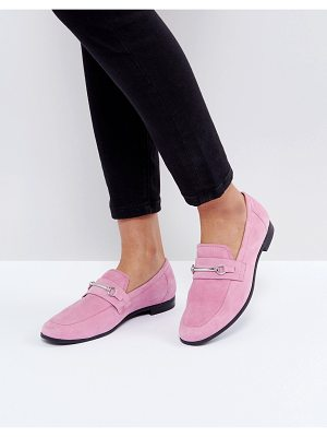 VAGABOND Marilyn Loafer In Pink Suede