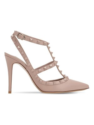 Valentino 100mm rockstud leather pumps