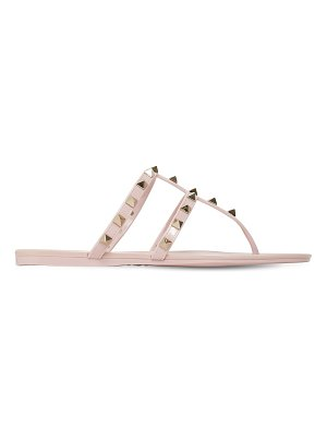 Valentino 10mm summer rockstud pvc sandals