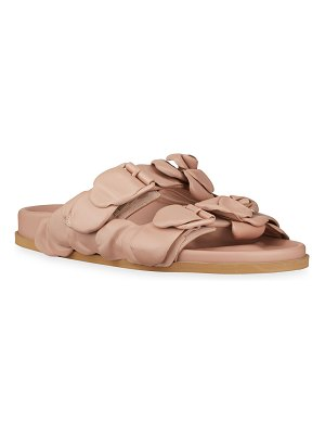 Valentino Atelier 03 Rose Edition Slide Sandals