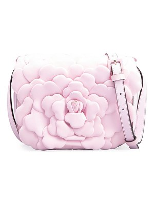 Valentino Atelier Rose 03 Edition Leather Rose Small Shoulder Bag