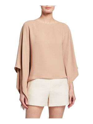 Valentino Cady Couture Silk Blouse