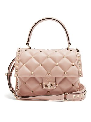 Valentino Candystud quilted-leather shoulder bag
