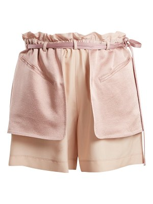 Valentino Contrast Pocket Elasticated Waist Shorts