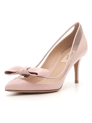 VALENTINO Dollybow Patent 75mm Pump