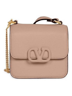 Valentino garavani micro vsling leather crossbody bag