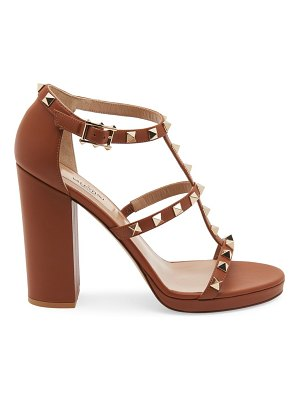 Valentino garavani rockstud t-strap leather sandals