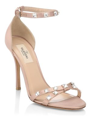 Valentino glam ankle-strap sandals