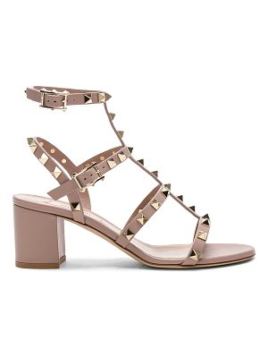 Valentino Leather Rockstud Sandals