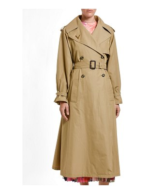 Valentino Lightweight Gabardine Belted Trench Coat