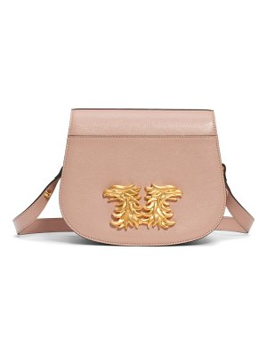 Valentino maison gryphon leather saddle bag