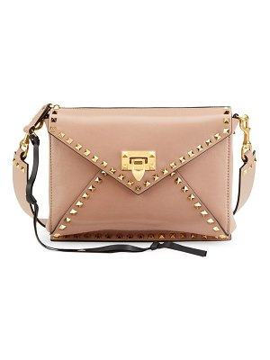 Valentino medium rockstud hype leather shoulder bag