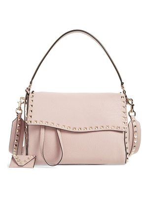 Valentino medium rockstud leather shoulder bag